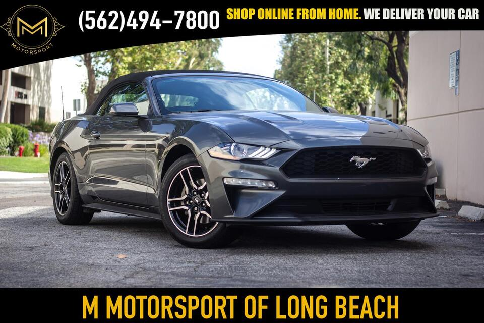 2018_Ford_Mustang_EcoBoost Convertible 2D_ Long Beach CA