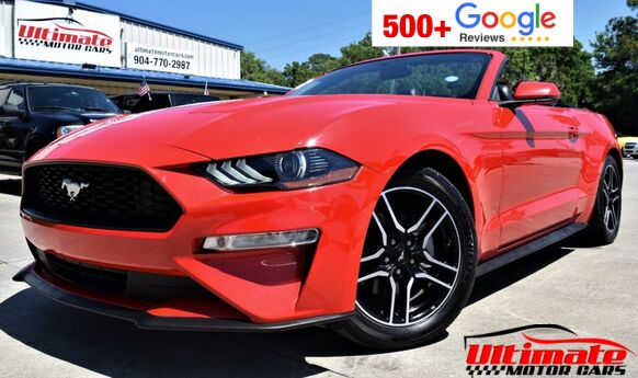 2018 Ford Mustang EcoBoost Premium 2dr Convertible Saint Augustine FL
