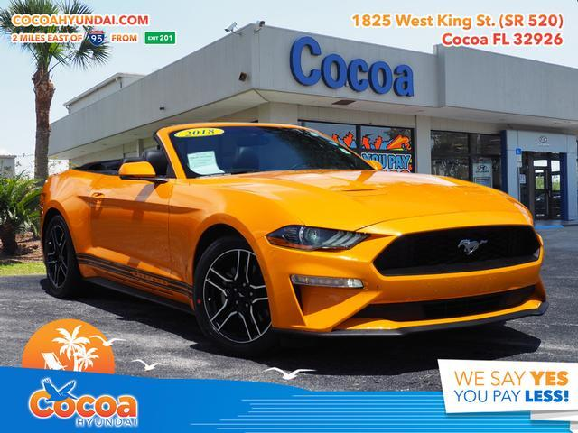 2018 Ford Mustang EcoBoost Premium Cocoa FL
