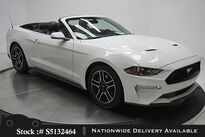 Ford Mustang EcoBoost Premium Convertible CAM,CLMT STS 2018
