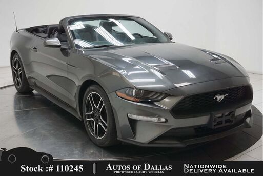 2018_Ford_Mustang_EcoBoost Premium Convertible CAM,PARK ASST,KEY-GO_ Plano TX