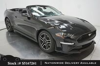 Ford Mustang EcoBoost Premium Convertible NAV,CAM,CLMT STS 2018