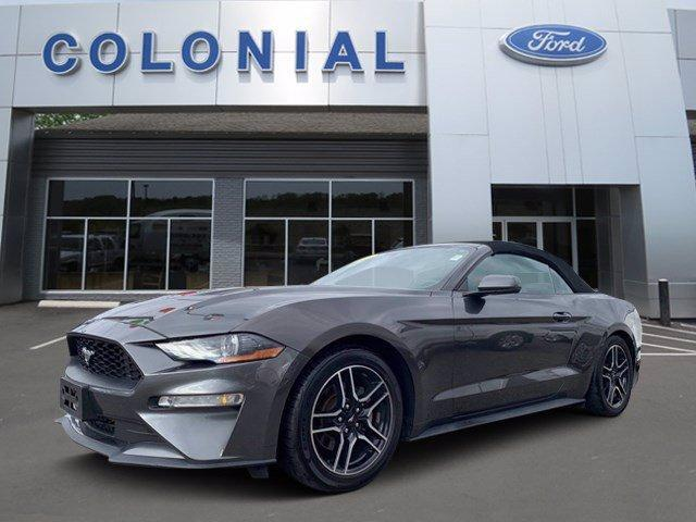 2018 Ford Mustang EcoBoost Premium Convertible Marlborough MA