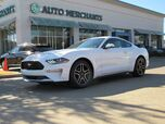 2018 Ford Mustang EcoBoost Premium Coupe  LEATHER, BACK UP CAMERA COOLING AND HEATING SEATS,BLUETOOTH AUDIO