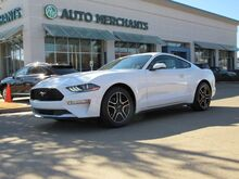 2018_Ford_Mustang_EcoBoost Premium Coupe  LEATHER, BACK UP CAMERA COOLING AND HEATING SEATS,BLUETOOTH AUDIO_ Plano TX