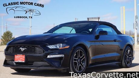 2018 Ford Mustang EcoBoost Premium Lubbock TX
