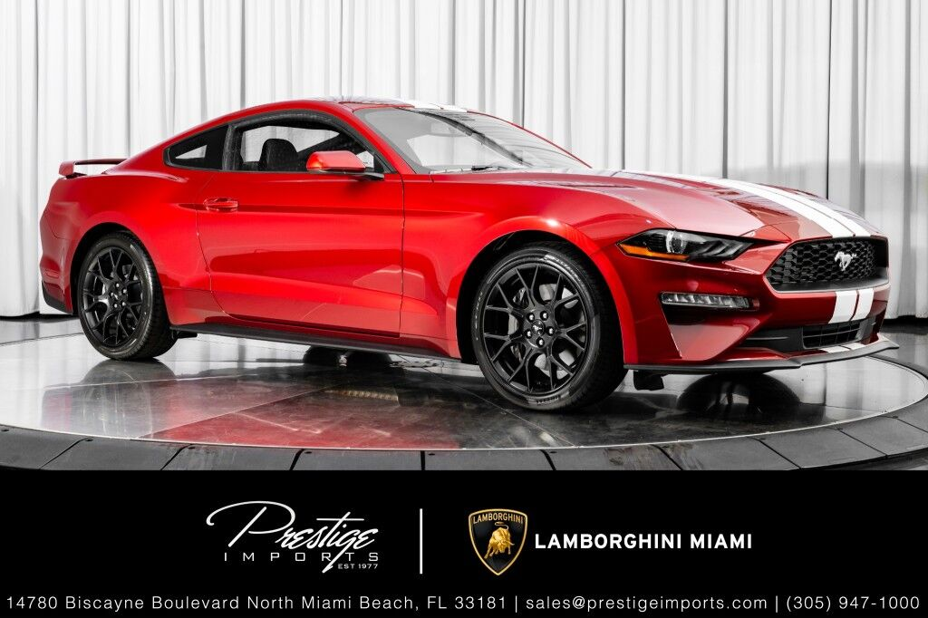 2018_Ford_Mustang_EcoBoost Premium_ North Miami Beach FL