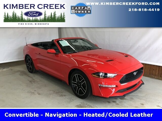 2018 Ford Mustang EcoBoost Premium Pine River MN