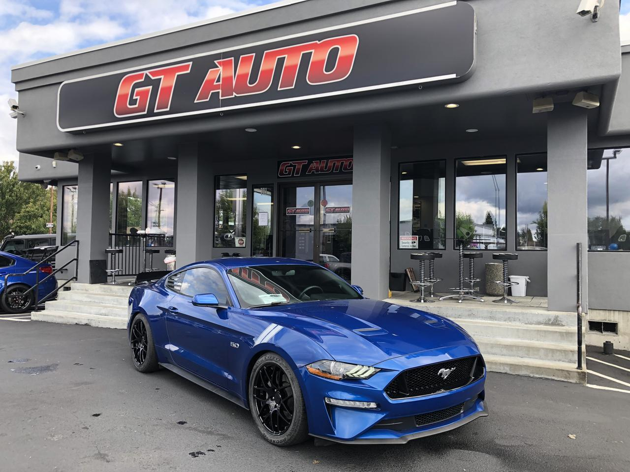 2018 Ford Mustang GT Premium Coupe 2D Puyallup WA
