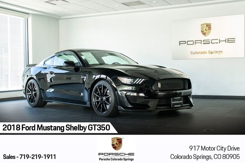 2018 Ford Mustang Shelby GT350 Colorado Springs CO