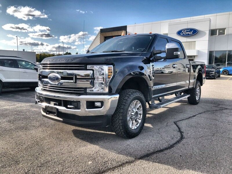 2018 Ford Super Duty F-250 4x4 Lariat One Owner Accident Free 6.7 Diesel with Snow Plow Prep Pkg. Mono ON
