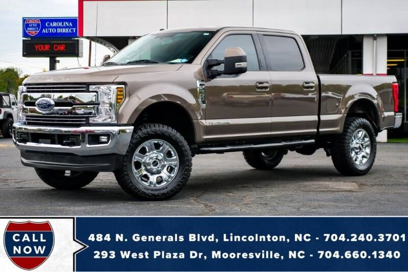 2018 Ford Super Duty F-250 LARIAT 4X4 6.7L w/ Heated & Vented Front Seats Mooresville NC