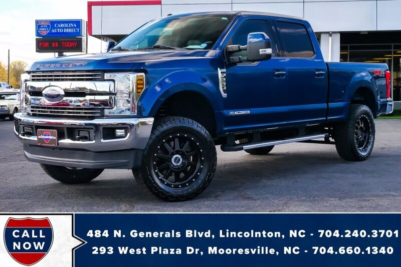 2018 Ford Super Duty F-250 LARIAT FX4 *MODS*CHECK OUT UNDER THE HOOD*1-Owner* Mooresville NC