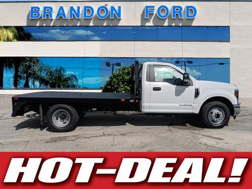 2018 Ford Super Duty F-350 DRW XL 11 FT GOOSENECK FLATBED Tampa FL