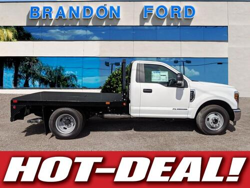 2018 Ford Super Duty F-350 DRW XL 9 FT GOOSENECK FLATBED Tampa FL