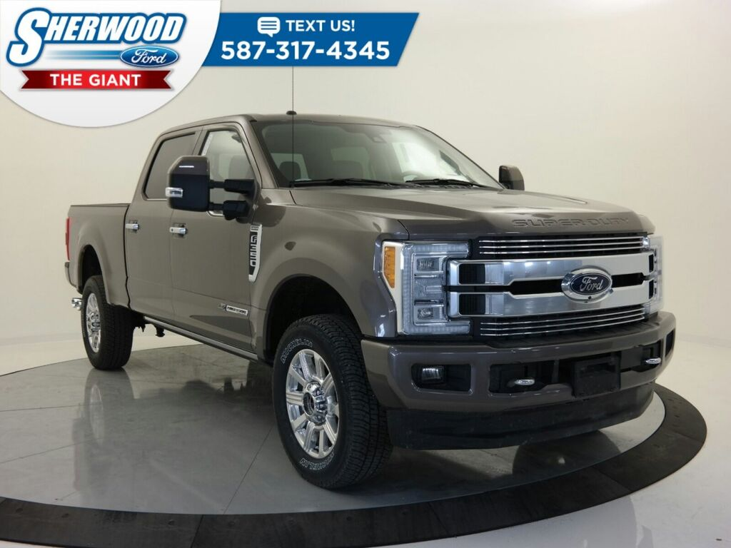 Sherwood Park Ford >> 2018 Ford Super Duty F-350 DRW Platinum Sherwood Park AB 24922505