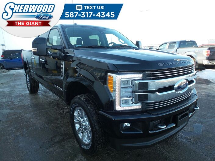 2018 Ford Super Duty F-350 SRW Limited Sherwood Park AB