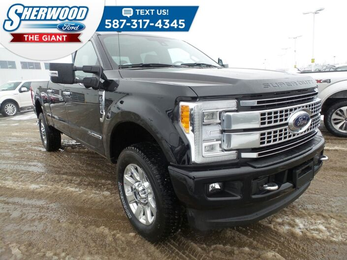 2018 Ford Super Duty F-350 SRW Platinum Sherwood Park AB
