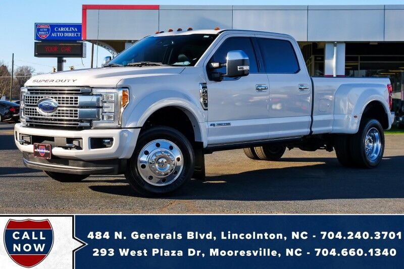 2018 Ford Super Duty F-450 DRW Platinum 4X2 WB *6.7L V8* w/ Power Boards & Seat Massage Mooresville NC