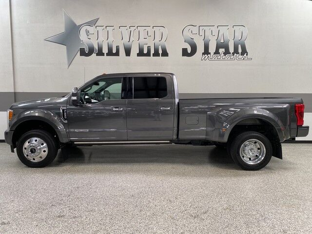2018 Ford Super Duty F-450 DRW Platinum DRW 4WD Powerstroke Dallas TX
