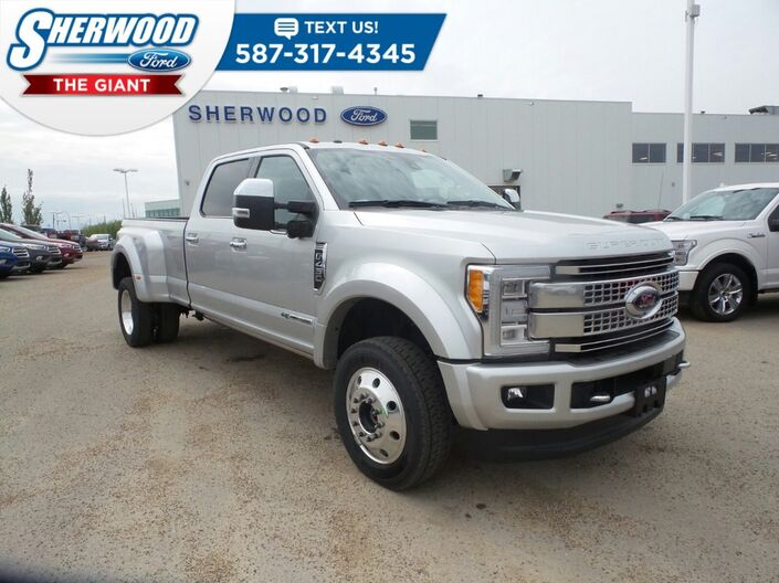 2018 Ford Super Duty F-450 DRW Platinum Sherwood Park AB