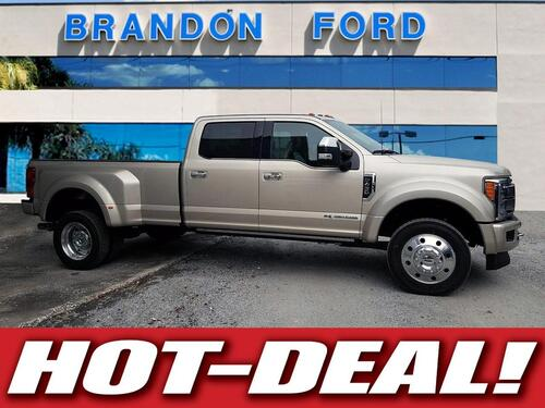 2018 Ford Super Duty F-450 DRW Platinum Tampa FL