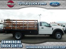 2018_Ford_Super Duty F-450 DRW_XL Harbor 12' Stake Bed V-10_ Irvine CA