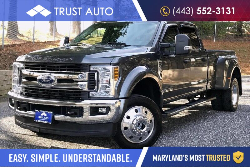 2018 Ford Super Duty F-450 DRW XLT Crew Cab 4WD FX4 Dually 6.7 Power Stroke Turbo Diesel Pickup Truck Sykesville MD