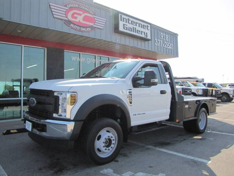 2018 Ford Super Duty F-550 4x4 Diesel Flatbed 76k mi's XL Collinsville OK