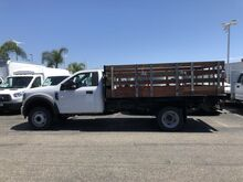 2018_Ford_Super Duty F-550 DRW_XL Harbor 12' Stake Bed V-10_ Irvine CA