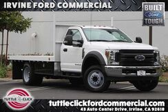 2018_Ford_Super Duty F-550 DRW_XL Scelzi 12' Flat Bed Diesel_ Irvine CA
