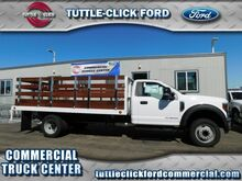 2018_Ford_Super Duty F-550 DRW_XL Scelzi 14' Stake Bed Diesel_ Irvine CA