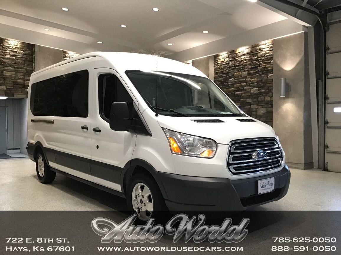2018 Ford TRANSIT 350 12 PASSENGER  Hays KS