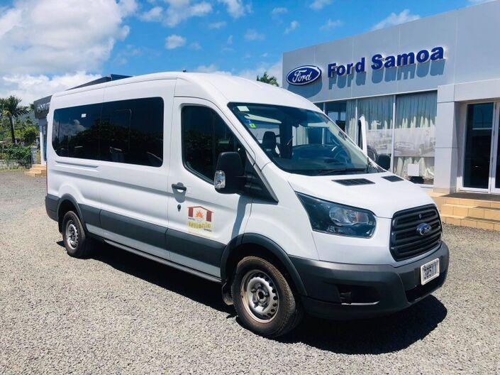 2018 Ford TRANSIT 410L 2.2L TURBO DIESEL 2WD 6-SPEED MANUAL TRANSMISSION BUS 15+1 SEATER Vaitele