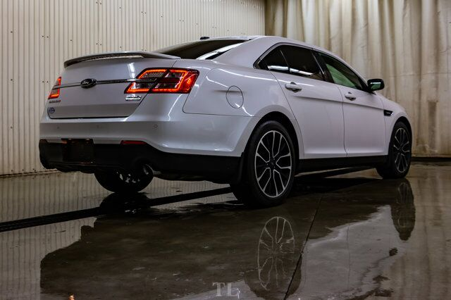 2018 Ford Taurus AWD SHO Leather Roof Nav BCam Red Deer AB