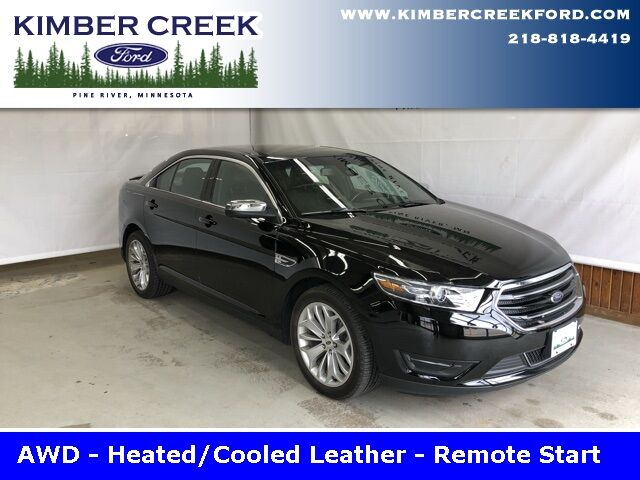 2018 Ford Taurus Limited AWD Pine River MN