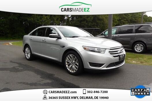 2018_Ford_Taurus_Limited_ Salisbury MD