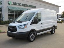 2018_Ford_Transit_150 Van Med. Roof w/Sliding Pass. 130-in. WB, BACKUP CAM, AM/FM/AUX, POWER WINDOWS/LOCKS/MIRRORS_ Plano TX