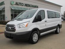 2018_Ford_Transit_150 Wagon Low Roof XLT 60/40 Pass. 130-in. WB, 8 PASSENGER + EXTRA CARGO, BIGGER SEATS, BACK UP CAM_ Plano TX