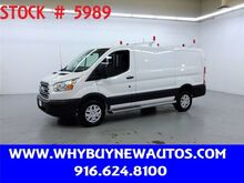 2018_Ford_Transit 250_~ Ladder Rack & Shelves ~ Only 10K Miles!_ Rocklin CA