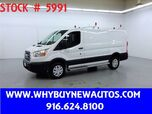 2018 Ford Transit 250 ~ Ladder Rack & Shelves ~ Only 10K Miles!