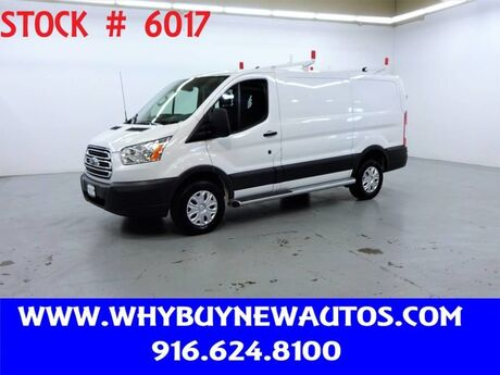 2018 Ford Transit 250 ~ Ladder Rack & Shelves ~ Only 10K Miles! Rocklin CA