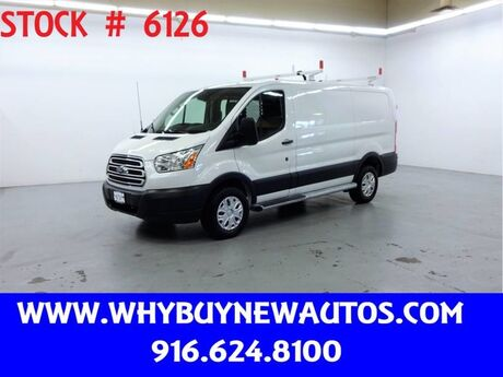2018 Ford Transit 250 ~ Ladder Rack & Shelves ~ Only 11K Miles! Rocklin CA