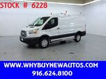 2018 Ford Transit 250 ~ Ladder Rack & Shelves ~ Only 14K Miles!
