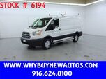 2018 Ford Transit 250 ~ Ladder Rack & Shelves ~ Only 15K Miles!