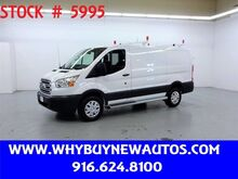 2018_Ford_Transit 250_~ Ladder Rack & Shelves ~ Only 5K Miles!_ Rocklin CA