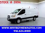 2018 Ford Transit 250 ~ Ladder Rack & Shelves ~ Only 5K Miles!