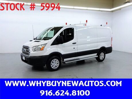 2018 Ford Transit 250 ~ Ladder Rack & Shelves ~ Only 5K Miles! Rocklin CA