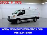 2018 Ford Transit 250 ~ Ladder Rack & Shelves ~ Only 6K Miles!