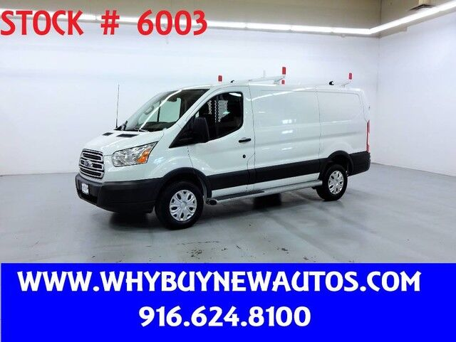 2018 Ford Transit 250 ~ Ladder Rack & Shelves ~ Only 7K Miles! Rocklin CA